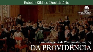 Estudo doutrinário - Da Providência (CFW, Cap. 5, pt 4)