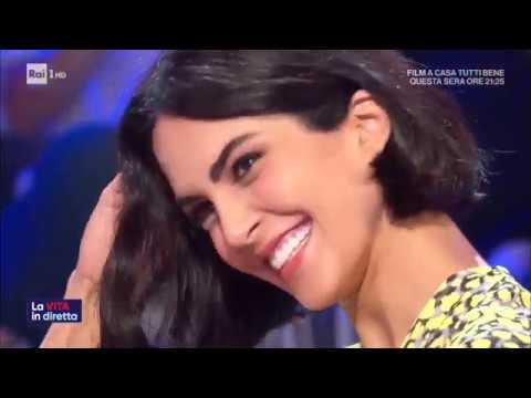 Rocío Muñoz Morales - La vita in diretta 18/09/2019
