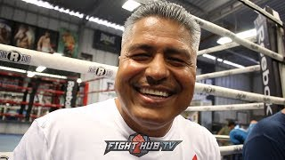 "EPIC ROBERT GARCIA ON GOLOVKIN & ABEL SANCHEZ SPLIT  ""ABEL WORKED WITH GGG WHEN HE WAS NOTHING"""