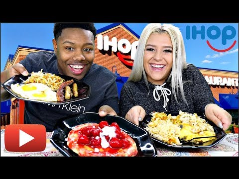 IHOP Mukbang (SUBSCRIBE TO NICOLE'S CHANNEL)▶️🥞🍳