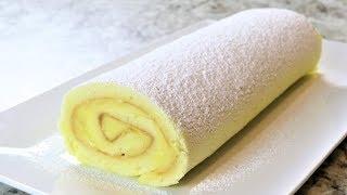 Lemon Swiss Roll - Lemon Curd