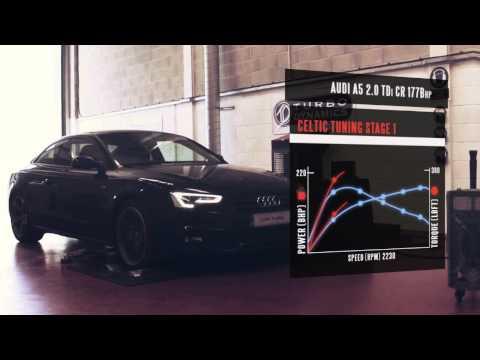 Audi ECU Remap - A5 2.0 TDi Engine Tuning Dyno Video