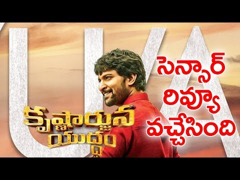 Krishnarjuna Yuddham Movie Censor Review | Natural Star Nani | YOYO Cine Talkies