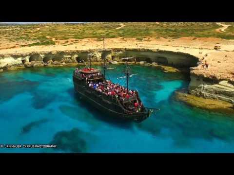 AYIA NAPA - PROTARAS CYPRUS IN 2 MINUTES - DRONE VIDEO  DJI PHANTOM 3 & 4