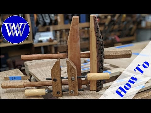 How To make a Hand Screw Clamp