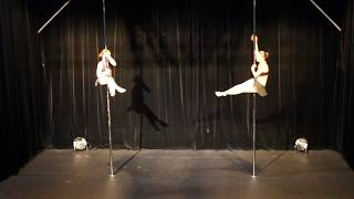 Second Place - Duo - Belgian Pole Dance Championship 2018