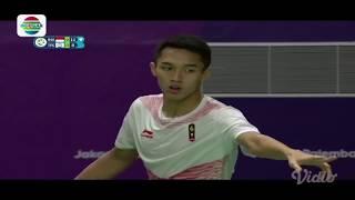 Jonatan Christie v Chou Tienchen Final Tunggal Putra Asian Games 2018