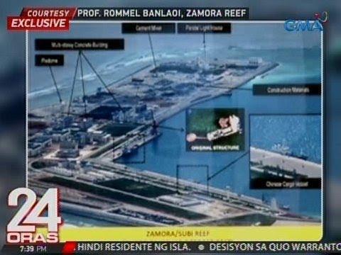 24 Oras: : 7 artificial islands ng China sa loob ng EEZ ng PHL, tadtad na ng mga pasilidad