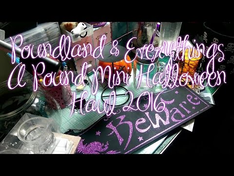 £ Mini Halloween / Witchy Poundland & Pound Shop 2016 £