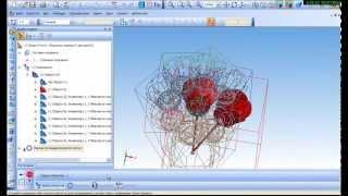 Компас 3D. Моделирование букета цветов. TimeLaps