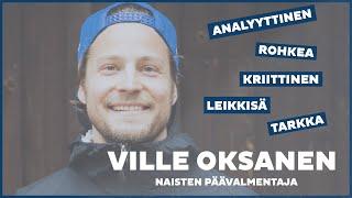 XCTEAMFIN | Naisten uusi päävalmentaja | Tutustu Villeen!