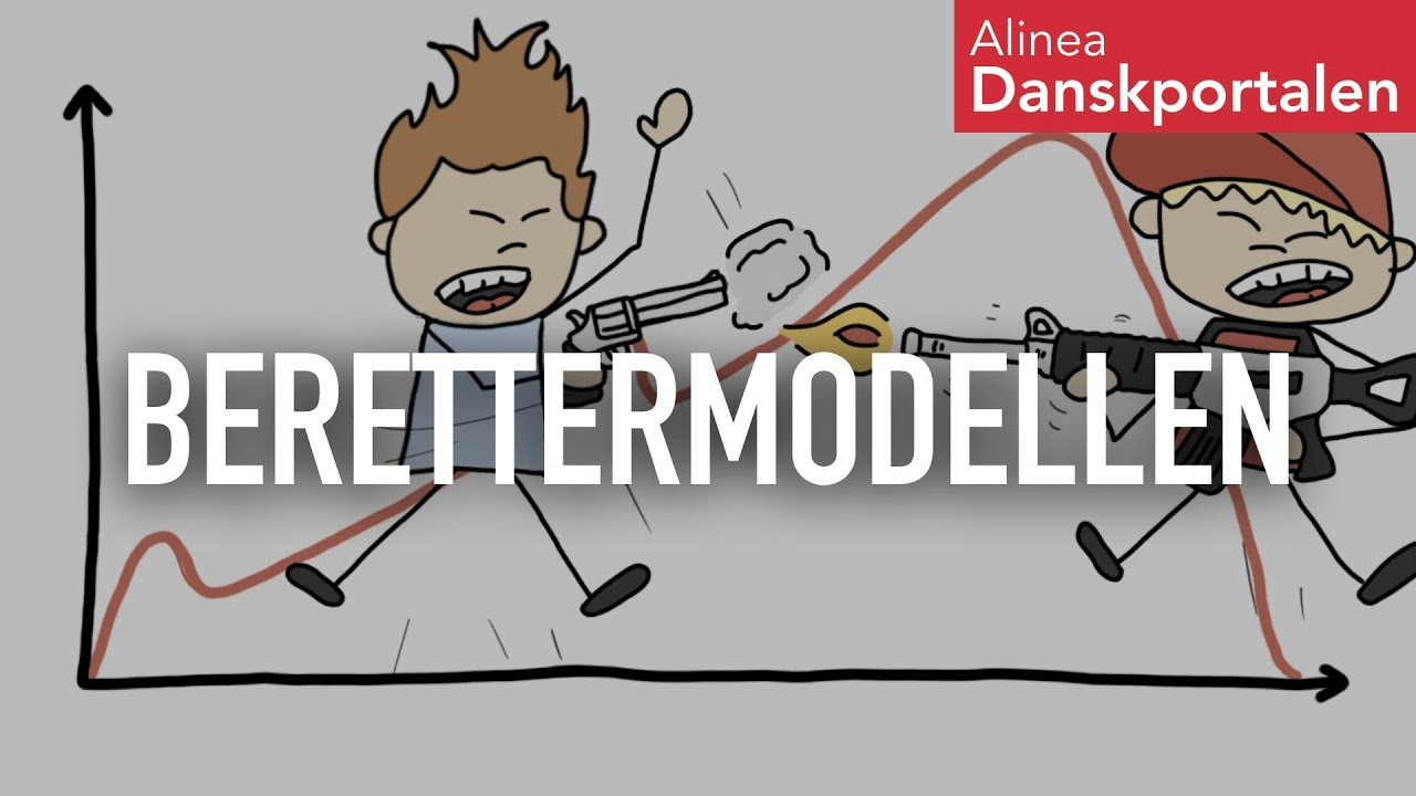 Berettermodellen - animeret dansk