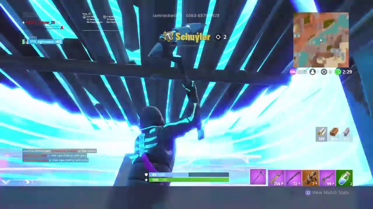 Playing new splashdown gamemode come watch or ill delete your fortnite  account