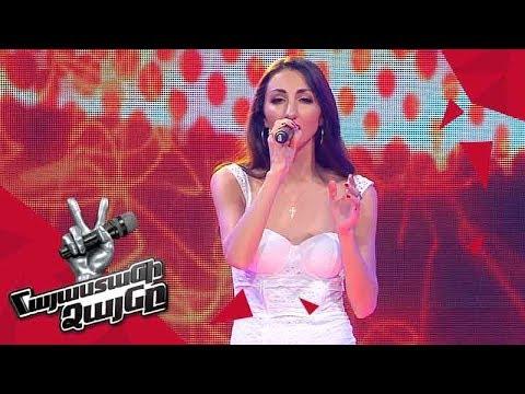 Kris Alberts sings 'Beautiful' - Blind Auditions - The Voice of Armenia - Season 4