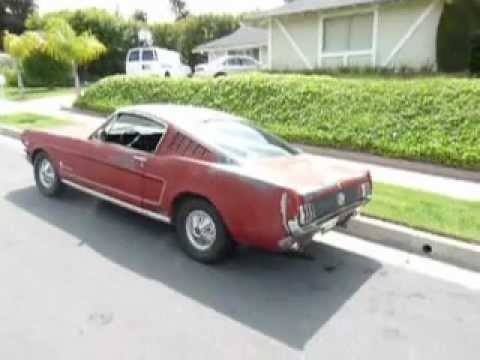 1966 mustang fastback for sale rust free ca driver youtube. Black Bedroom Furniture Sets. Home Design Ideas