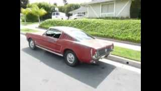 Gambar cover 1966 Mustang Fastback for sale rust free Ca. Driver