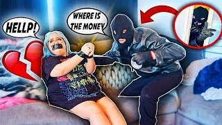 HOME INVASION PRANK ON GIRLFRIEND! **GONE TOO FAR**