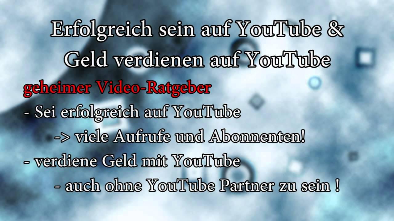 Youtube Geld Verdienen Anleitung