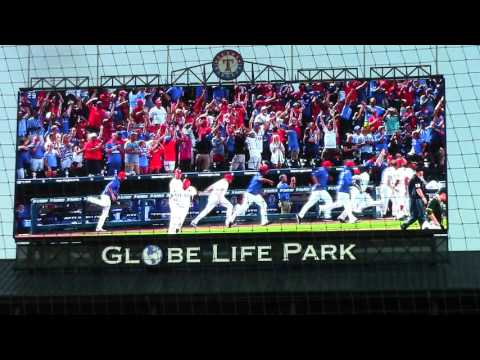 Texas Rangers Star Wars weekend 8/27/16.