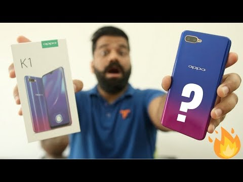 Oppo K1 Unboxing & First Look - Cheapest In-Display Fingerprint Scanner 馃敟馃敟馃敟