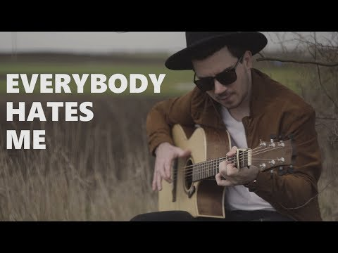 The Chainsmokers - Everybody Hates Me - Fingerstyle Guitar Cover