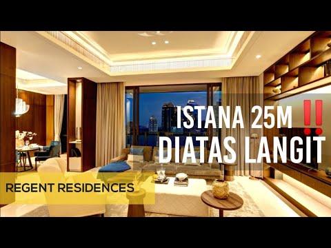 INTERIOR DESIGN | LUXURY PENTHOUSE DI REGENT RESIDENCES JAKARTA