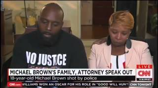 Michael Brown's Parents Give Powerful, Tearful First Interview to CNN   Mediaite