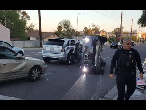 Uber Autonomous Car Crash Tempe Arizona