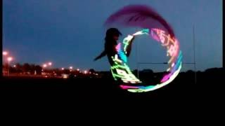 Chiffon Hula Hoop Dance