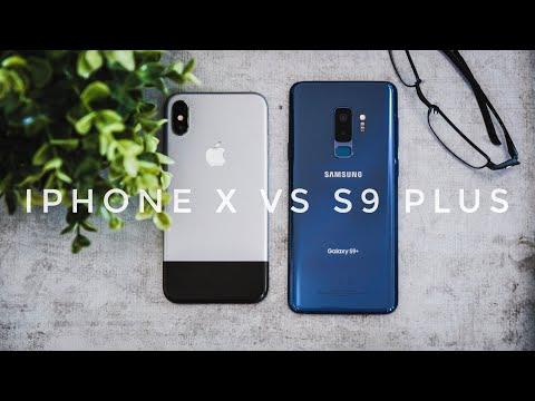 Ultimate Galaxy S9 Plus vs iPhone X Comparison