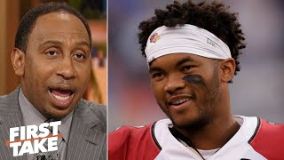 Kyler Murray is better than Daniel Jones in every way except height - Stephen A. | First Take