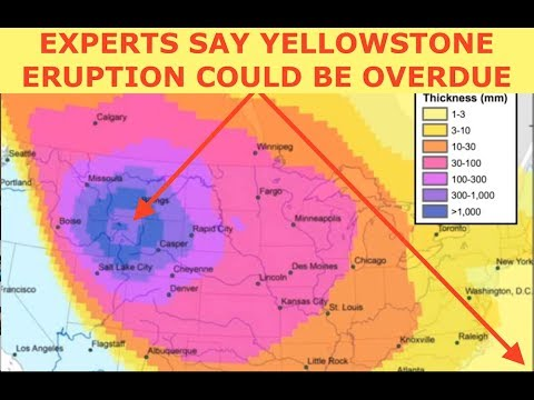 Experts Suggest, Yellowstone Eruption Overdue, Projection & Fallout Maps, Ash Levels by City, Latest