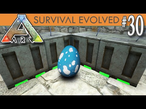 ARK: Survival Evolved - Incubator Room & Level 200 Hatching