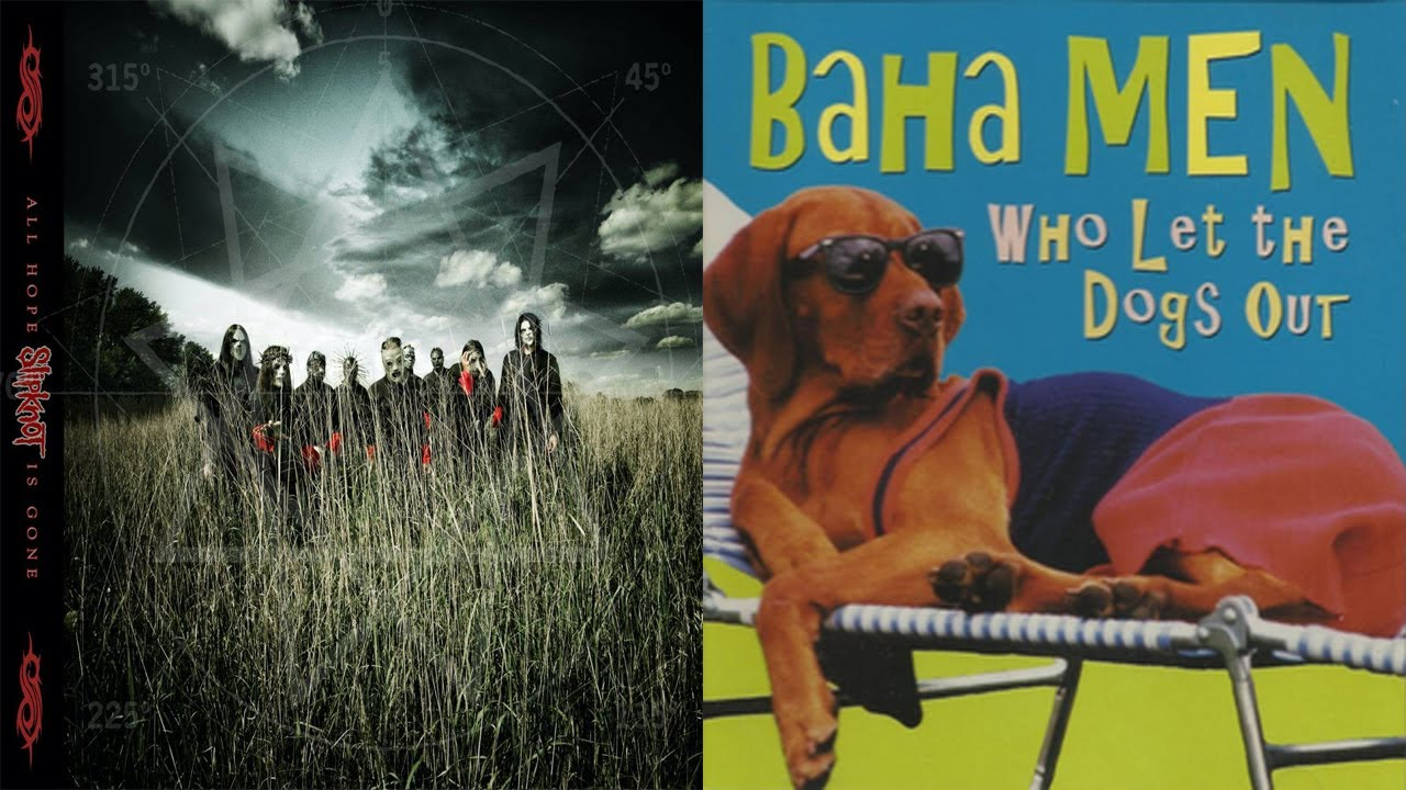 Slipknot - Psychosocial But It's Who Let the Dogs Out by Baha Men (feat. Anthony Fantano)