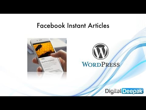 Setup Facebook Instant Articles for WordPress [2017 Edition]