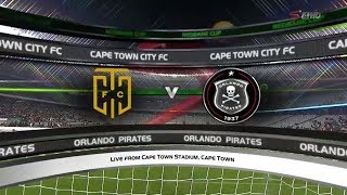 Nedbank Cup 2017/2018 | Cape Town City vs Orlando Pirates