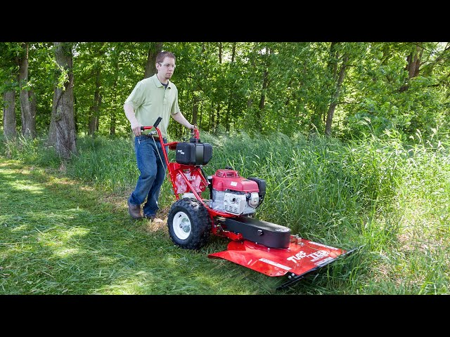 Power Brush Cutter from TURF TEQ - Professional Grounds Care Equipment