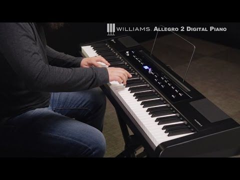 Williams Allegro 2 88-Key Hammer Action Digital Piano