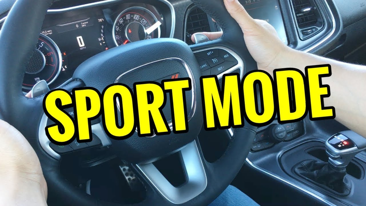 How to use sport mode what it does how it works