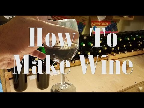 🍷How to make red wine at home, Cabernet Sauvignon.🍷