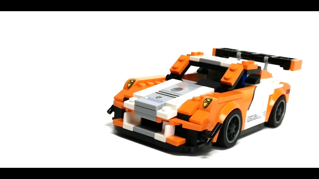 lego speed champions 75912 porsche 911 gt3 r hybrid moc. Black Bedroom Furniture Sets. Home Design Ideas