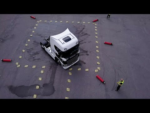 Water Challenge | Scania Driver Competitions