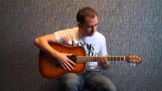 Как научиться играть на гитаре. Видеоурок №1