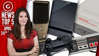 PS4 System Update Lands & Man Kills His Computer! - GS News Top 5