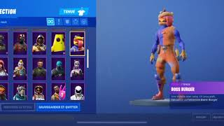 FORTNITE COMPTE TO SELL WITH THE SKIN GALAXIE