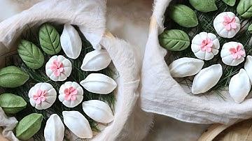 [ENG CC] 정성담아 빚어낸 송편 l 3가지 송편소와 모양만들기 : Songpyeon, Korean Traditional Food for Chuseok [아내의식탁]