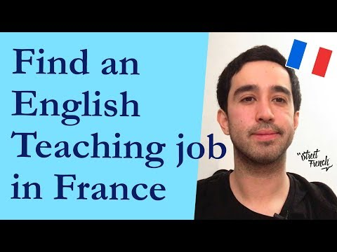 Finding An English Teaching Job In France | StreetFrench.org
