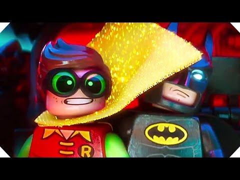 THE LEGO BATMAN MOVIE Trailer # 2 (Comic Con 2016)