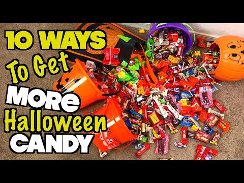 10 Ways To Get More Halloween Candy - PART 4 (MUST TRY) Trick Or Treat Life Hacks | Nextraker