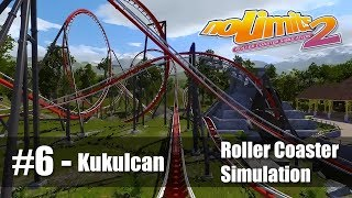 #6 Kukulcan by Christophe63 - Review 4.5 - NoLimits 2 - Roller Coaster Sim - PC Gameplay 60fps